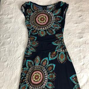 En Focus Printed Dress
